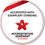 Accredited with exemplary standing Accreditation agrement canada