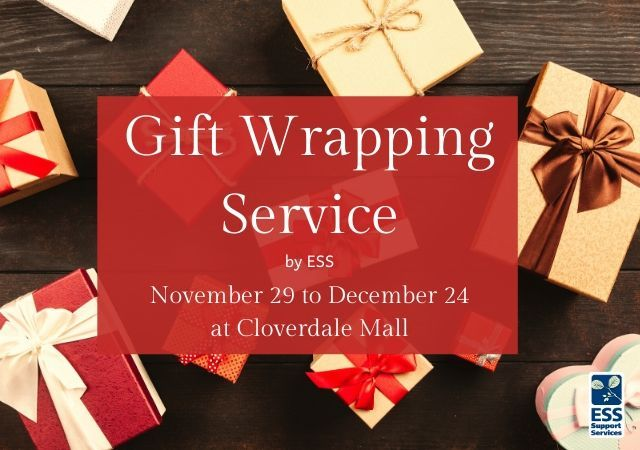 Holiday Gift Wrapping Service