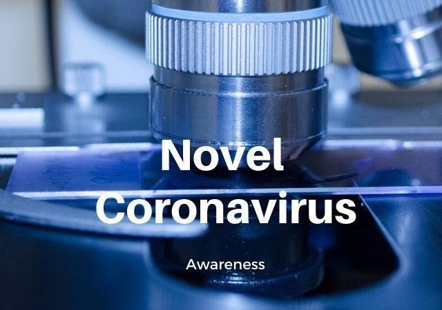 Novel Coronavirus Awareness