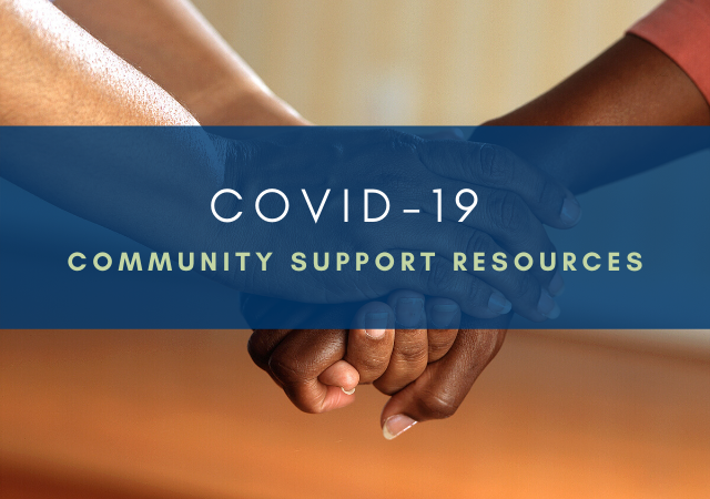 Community Supports Available during COVID-19