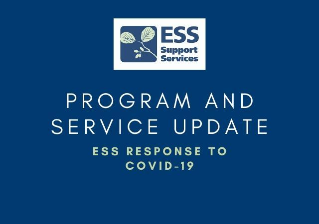 COVID-19: ESS Program and Services Update