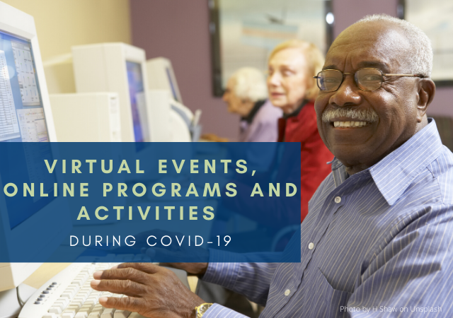 Online Activities Available During COVID-19