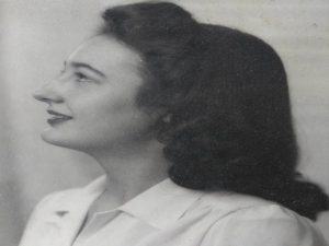 Image of Betty at a young age.