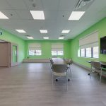 recreational program room in ESS' new centre