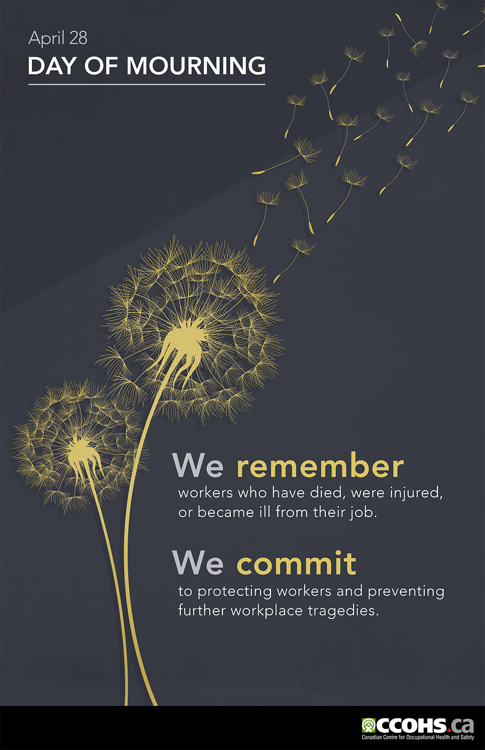 image honouring the day of mourning