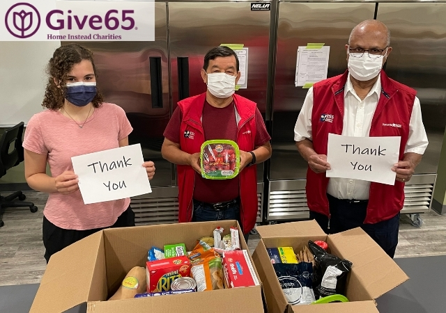 Helping Seniors Access Food: Give65 Fundraising Results