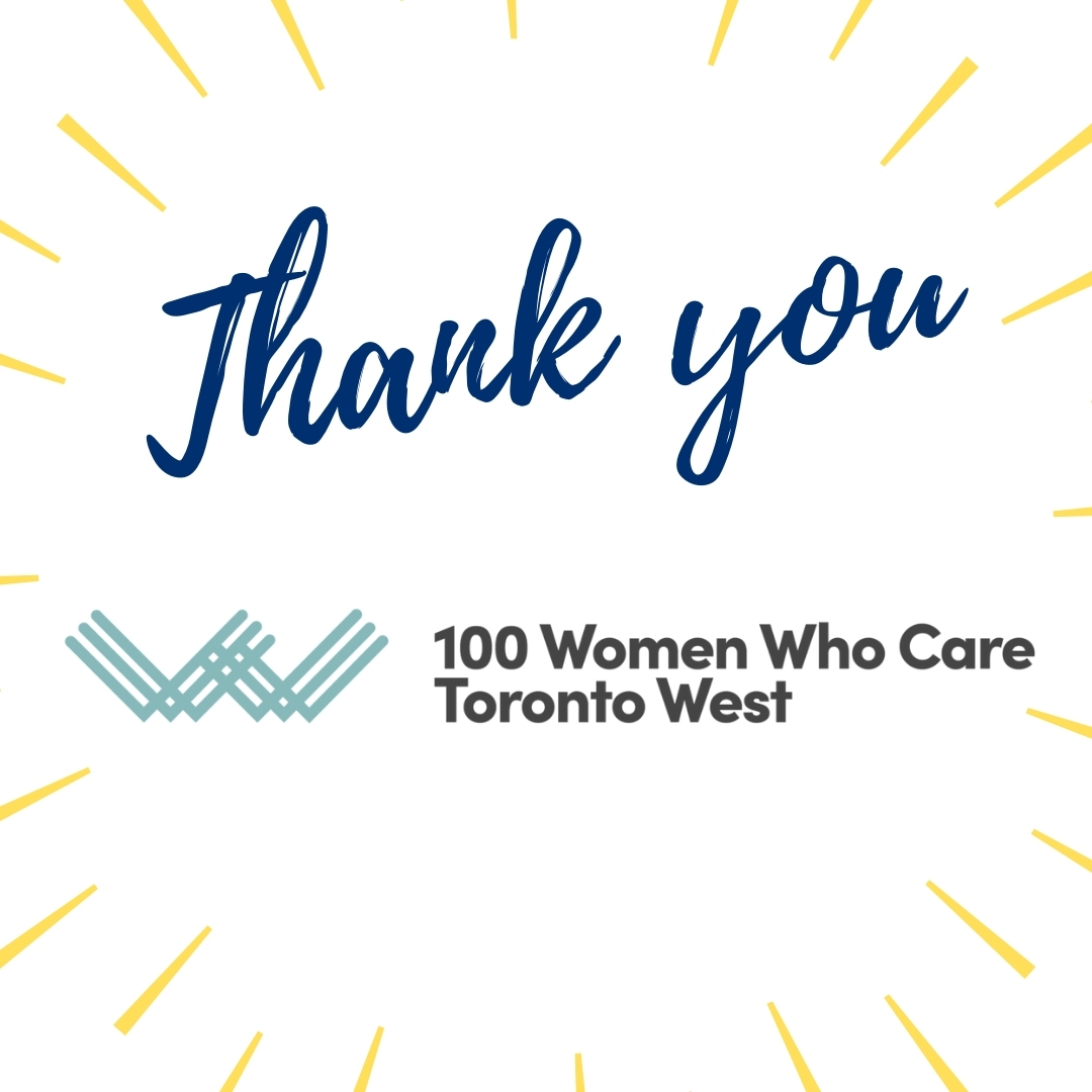 ESS Receives $11,550 Donation from 100 Women Who Care Toronto West
